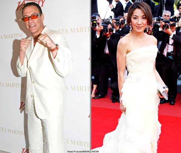 Jean-Claude Van Damme and Michelle Yeoh Cast